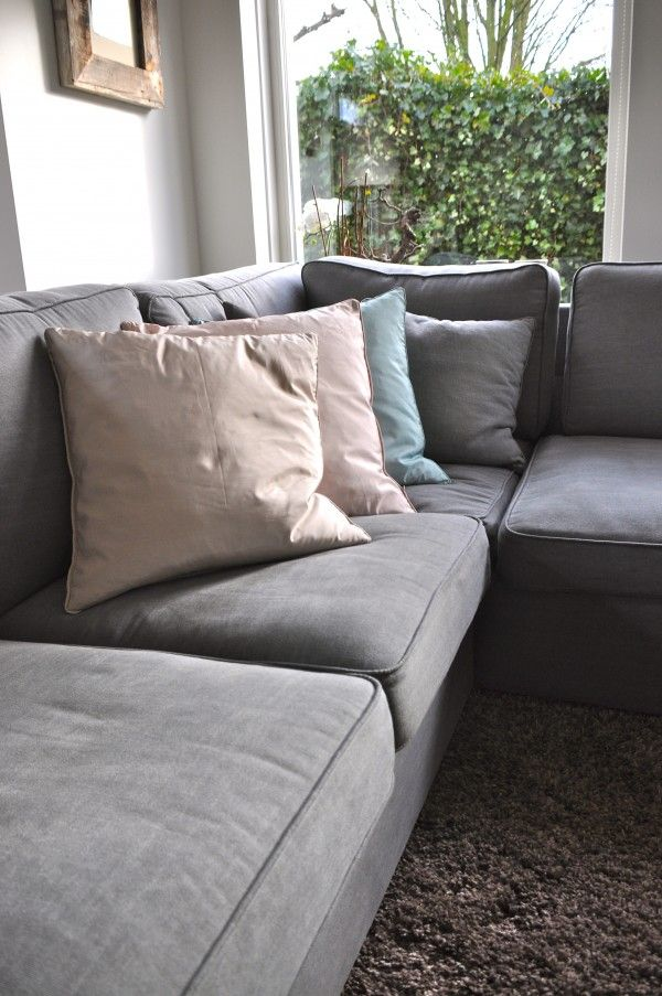 Love this leather sofa/couch Sharp lifestyle, lederen, hoekbank ...