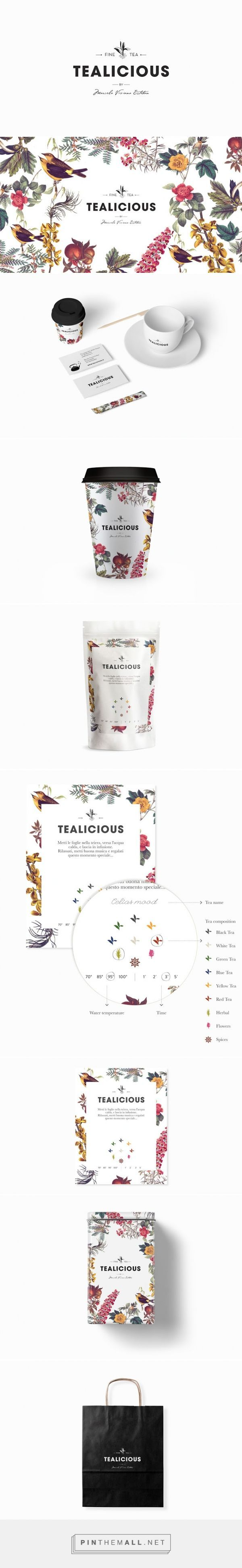 Tealicious ‪#‎Tea‬ Shop ‪#‎packaging‬ designed by Alvarez Juana - http://www.packagingoftheworld.com/2015/03/tealicious.html