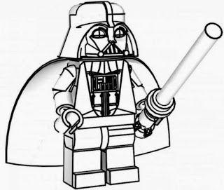 Lego Star Wars Darth Vader Ausmalbilder