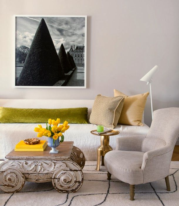 Keltainen talo rannalla: Tyyliä sunnuntaille
