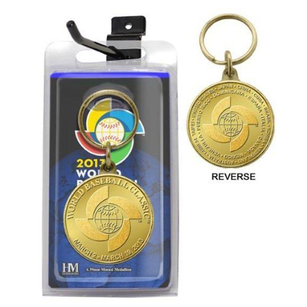 2013 World Baseball Classic Bronze Coin Keychain