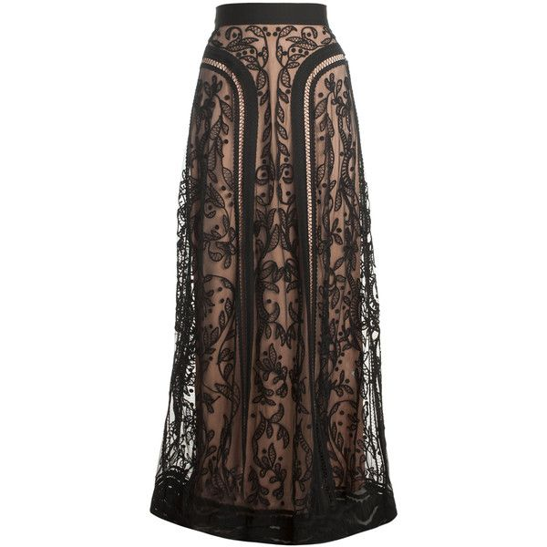 Bertie Print Maxi Skirt