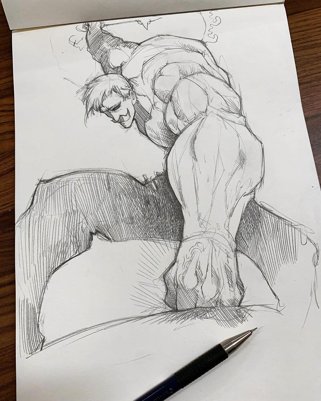 Photo of Pencil Sketch artist Efraín Malo