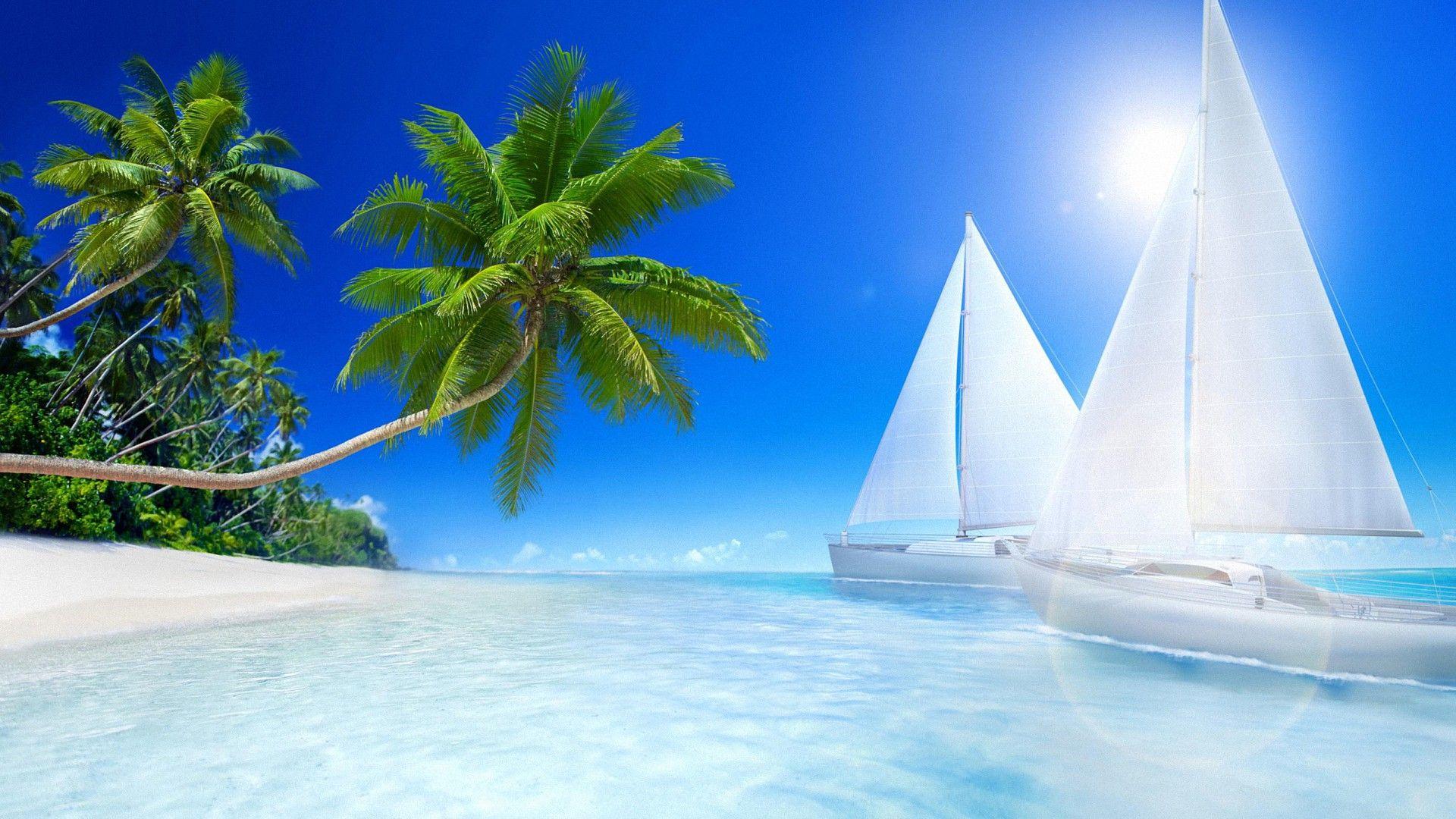 Hd wallpaper beach - Awesome Tropical Beach Hd Wallpapers