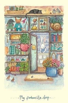 """Fran Evans, """"My Favourite Shop"""""""
