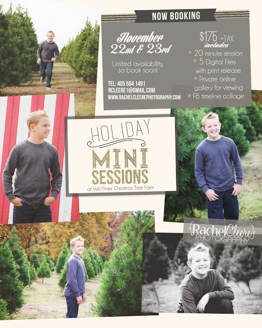 Rachel Cleere Photography Holiday Mini Sessions www