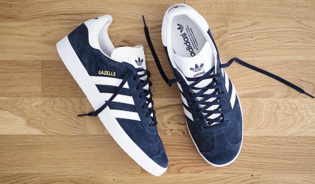 adidas gazelle bleu daim