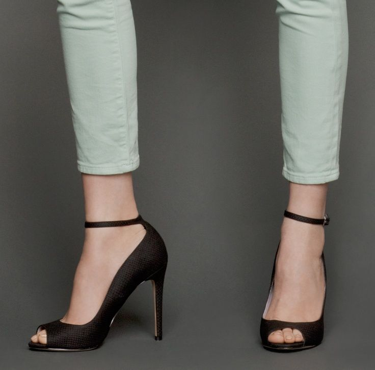 Black 'Mina' stiletto ankle boots | Balmain | High heels