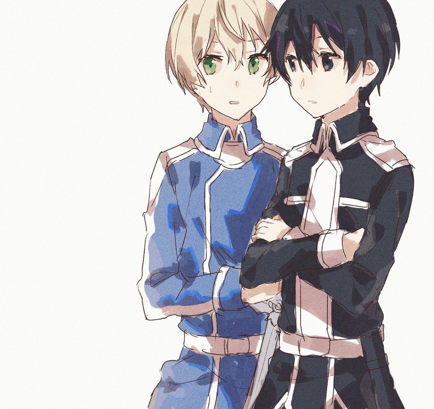 Pin De Shinykly Em Kirito And Eugeo Anime Eugeo Sword Art Online Desenho