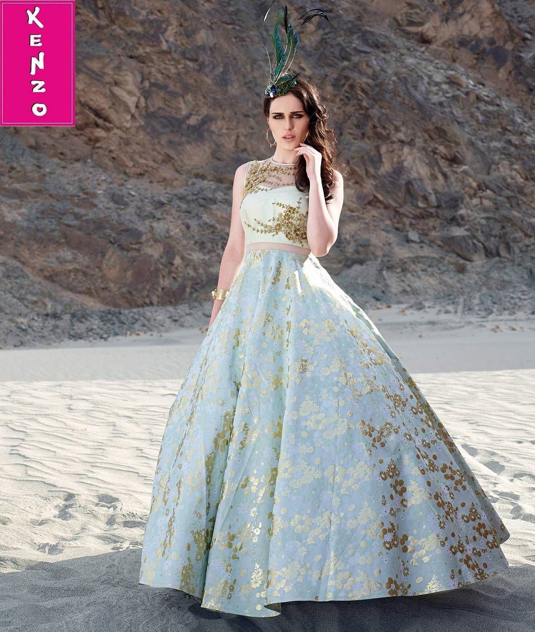 Stay updated with fashion. Get the latest trending gowns lehengas ...