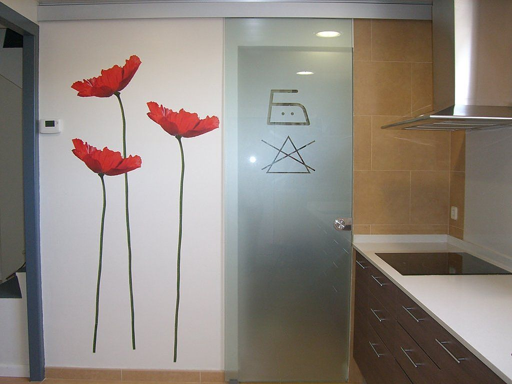 Resultado de imagen para puerta cocina cristal | Puertas cocina ...