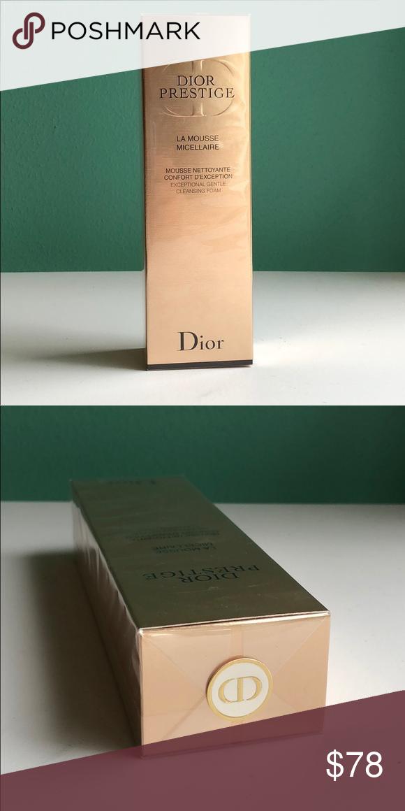 Dior La Mousse Micellaire Cleansing Foam Dior Prestige Exceptional Gentle Cleansing Foam Creamy Foam Rich In Rose Micelle Dior Gentle Cleanse Perfect Makeup