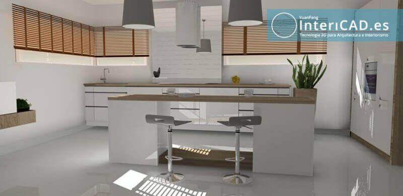 Programa de Decoración de Interiores - 3 Cocinas