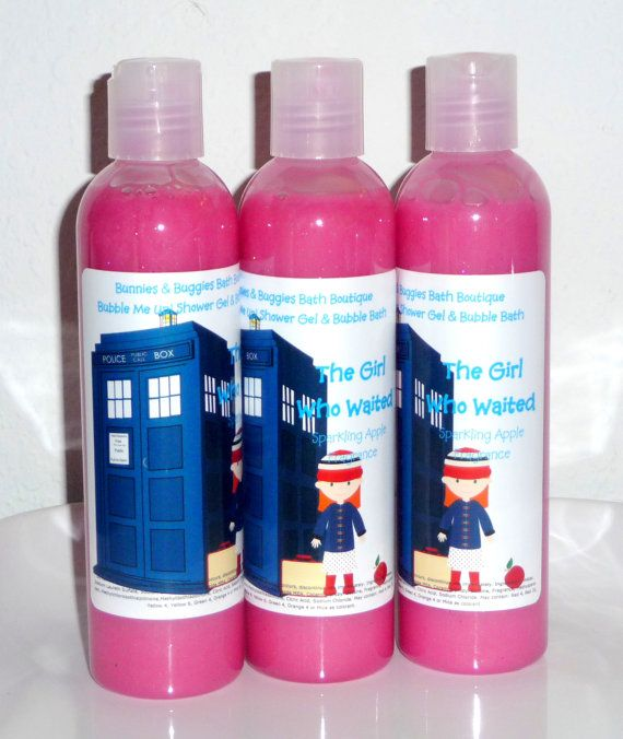 Doctor Who Soap The Girl Who Waited Sparkling Apple Bubble Me Up 9