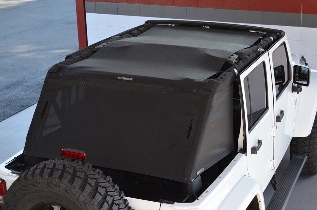 Jk 4d Unlimited Shadecage Jeep Jk Jeep Wrangler Accessories