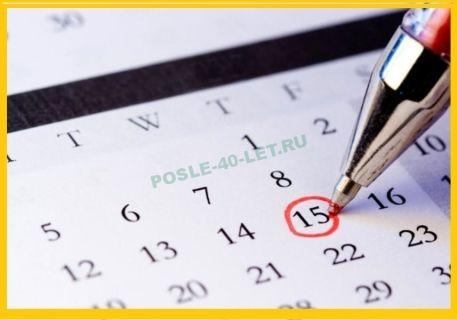 Нарушение менструационного цикла в 40 лет — лечение