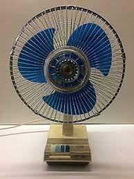 Image Result For Sanyo Vintage Fan Ef 3 Sd Oscillating Table Blue Blades
