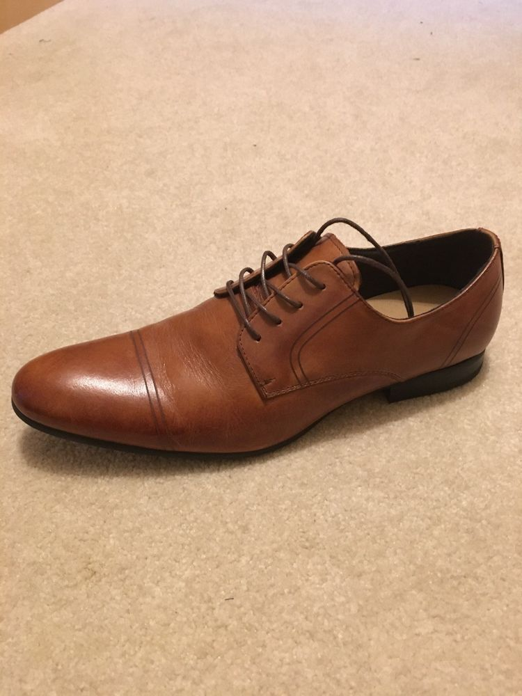 Mens Brown Leather Dress Shoes - Size 11  fashion  clothing  shoes   accessories  mensshoes  dressshoes (ebay link) 00c3fdc8801
