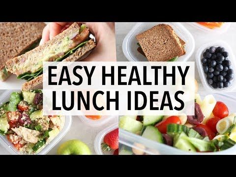 easy healthy lunch ideas school work packed lunches weight loss