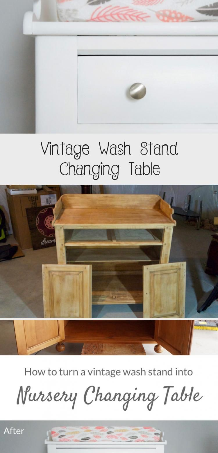 Vintage Wash Stand Changing Table DIY Vintage Wash Stand Changing Table DIY Aaron Blog s adaadelka0964 Home Decor DIY Recyle Furniture makeover you can DIY nbsp hellip ca...