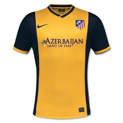 Camisetas Atletico Madrid 2013 2014 Segunda Equipacion Http Www Camisetascopadomundo2014 Com Atletico Madrid Camisetas