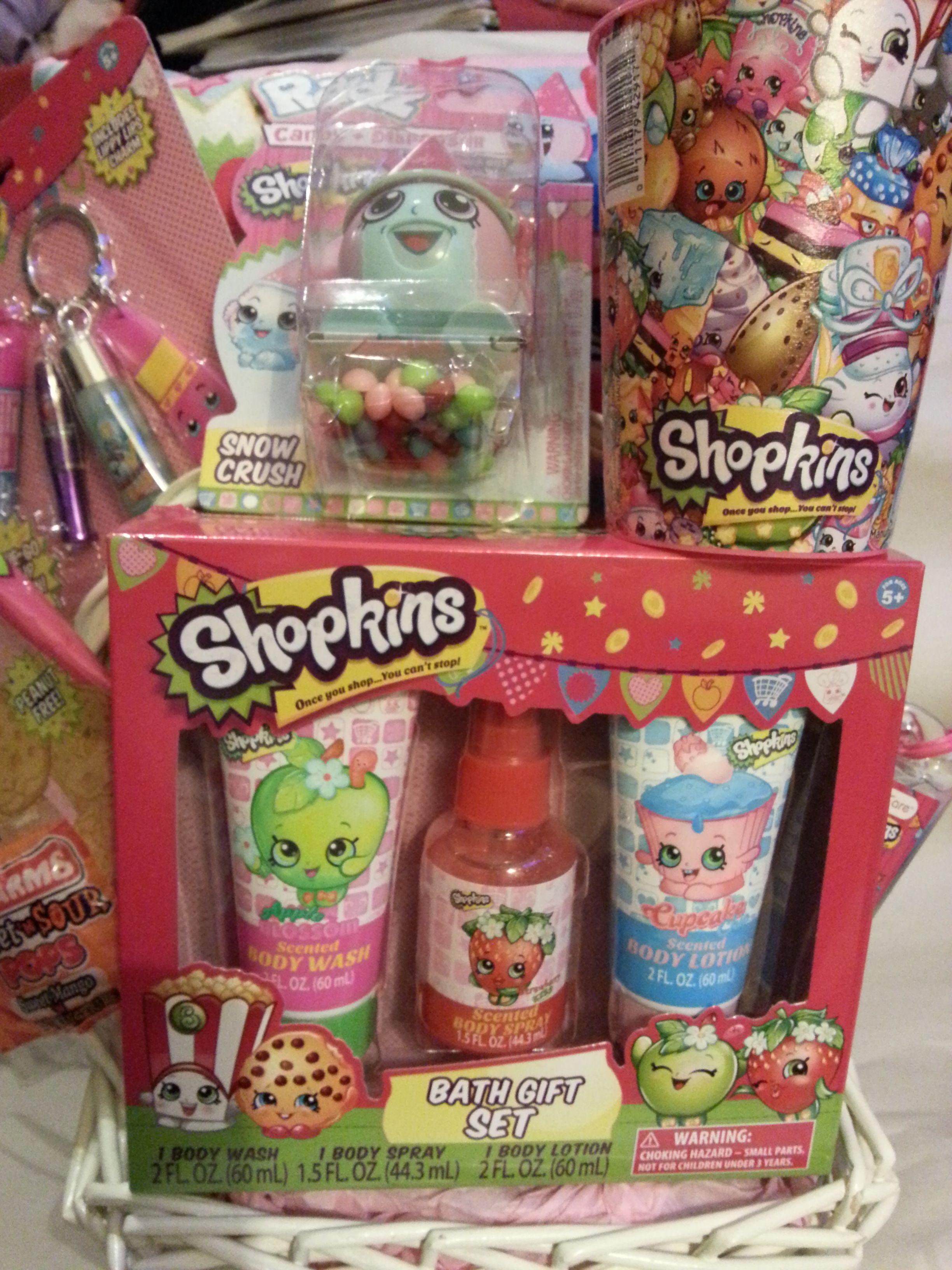 Gift Basket Shopkins Pink Shopkins Gift Baskets Shopkins Baskets