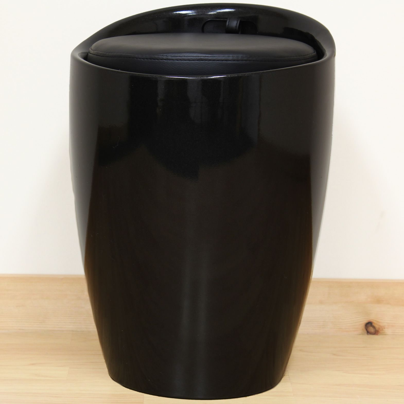Faux Leather Wizard Ottoman Hidden Storage Stool/ - Details About Black ABS & Faux Leather Ottoman Hidden Storage