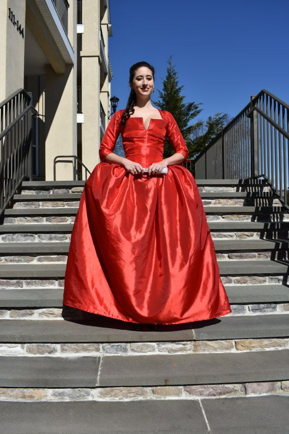Colonial Dress 18th Century Ball Gown Versailles Dress Maria Reynolds Dress Marie Antoinette Dress 18th Century Gown Poldark Dress Ball Gowns Gowns Dresses