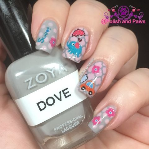 Nail Art ~ Born Pretty Store Sweet Nail Stickers