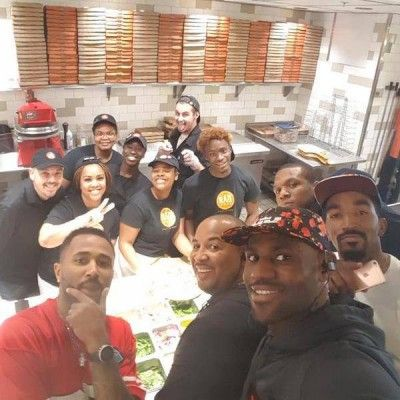 If you were on campus Sunday night, you might have done a double-take at the sight of LeBron James walking into a pizza joint and ordering up dinner for himself and a few Cavalier teammates. And yet it happened. LeBron's days as a pitchman for McDonald's are over. Today when you hear him...