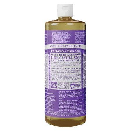 Dr Bronner S Pure Castile Soap Lavender 32 Oz At Target