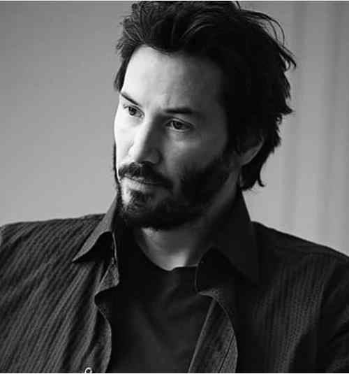 Keanu Reeves Hairstyles 2019 Men S Hairstyle 20xx Mens Hairstyles Long Hair Styles Men Keanu Reeves