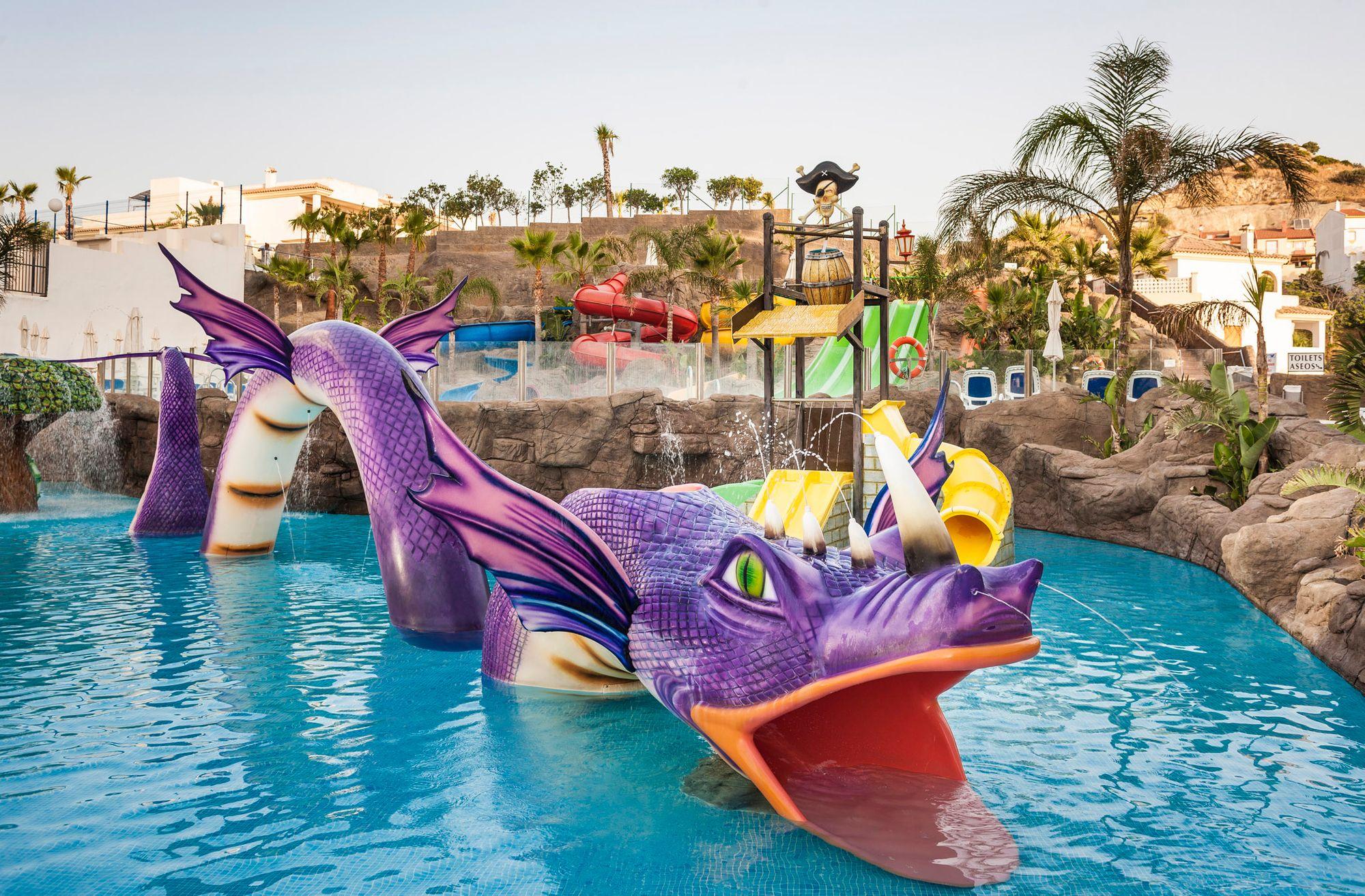 Piscinas De Nuestro Hotel En Málaga Globales Los Patos Park Pools At Our Hotel In Malaga Globales Los Patos Park Hotel Malagah Water Park Park Hotel Hotel