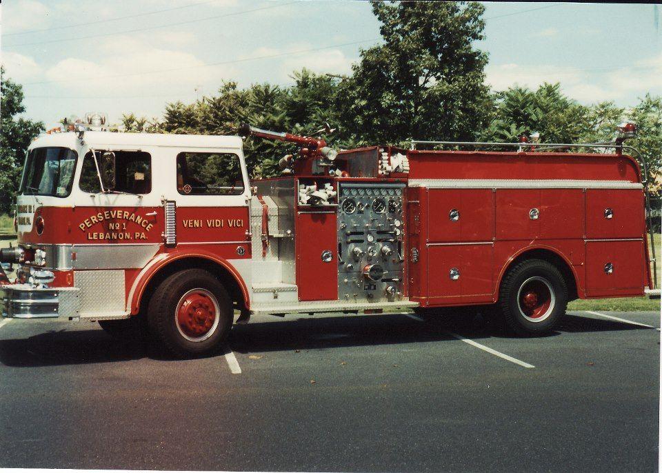 Perserverance Fire Co Lebanon, PA Fire trucks, Rescue