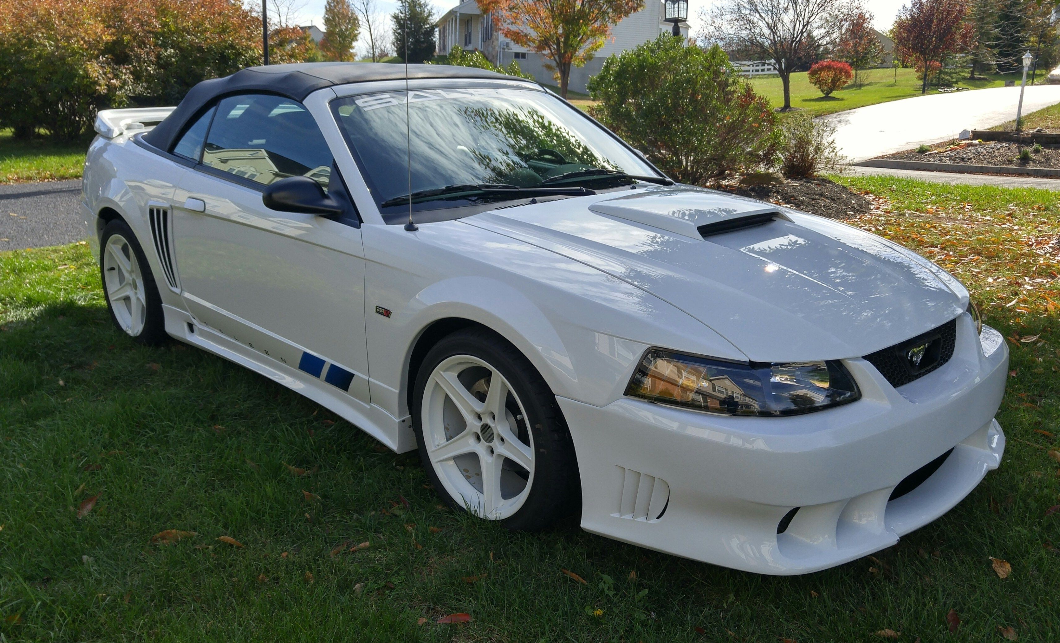 Saleen S281sc Convertible F Ford Mustang Saleen Ford Mustang