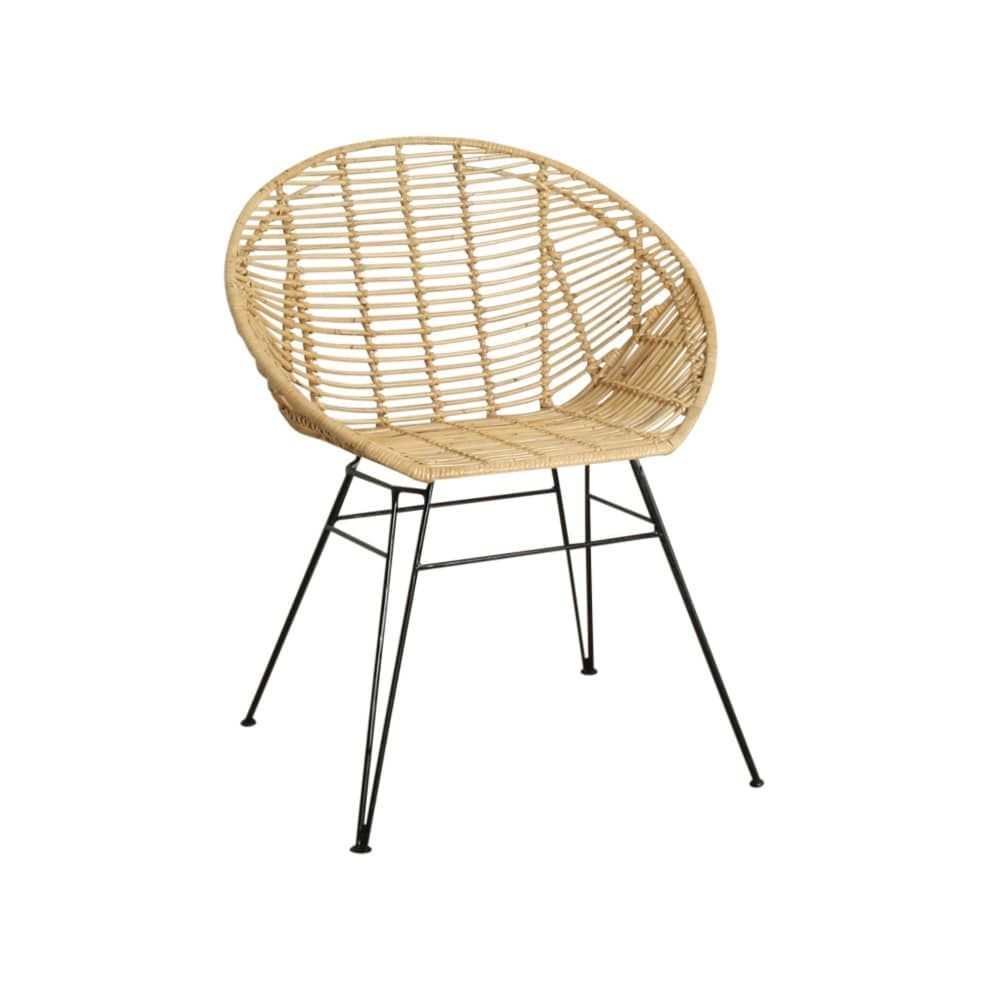 Stuhl Rattan Round Wicker Dining Chairs Rattan Lounge Chair Patterned Chair