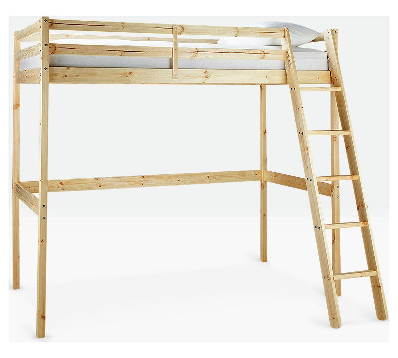 Best Buy Argos Home Kaycie Pine High Sleeper Single Bed Frame 400 x 300
