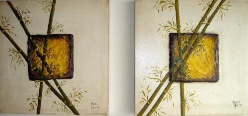 BeteBrito.com - Artista Plástica » Papel-machê » Bambu Japonês