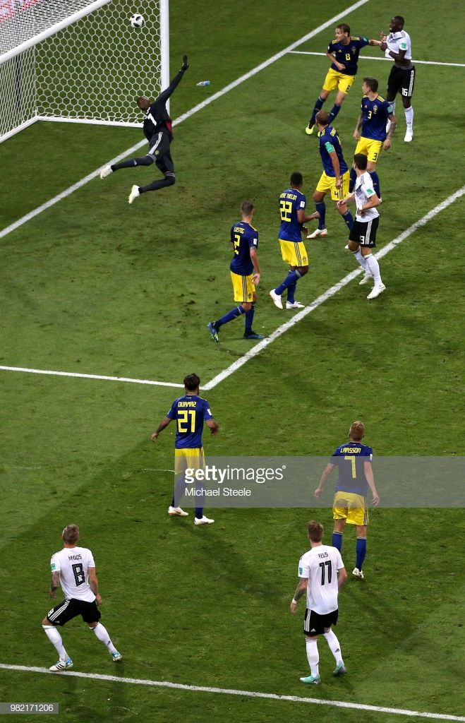 Germany v Sweden Group F 2018 FIFA World Cup Russia