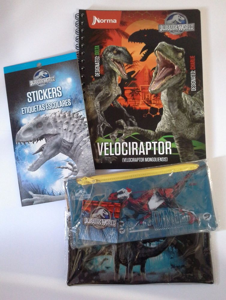 Jurassic World School Supplies Please Ask The Seller On Ebay If You