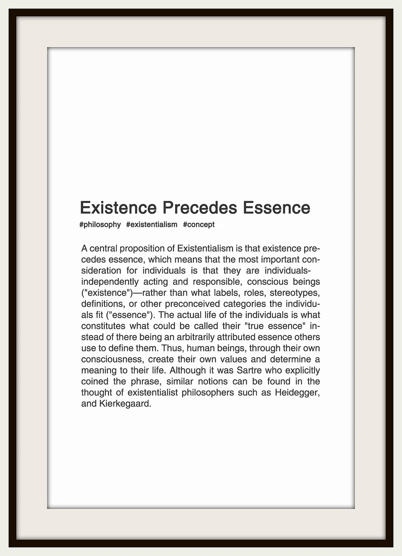 """Essence"" is also related to meaning, but quite accurate anyway"