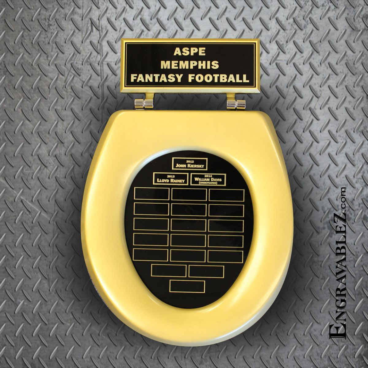 Yes This Is An Awesome Fantasy Football Trophy Golden