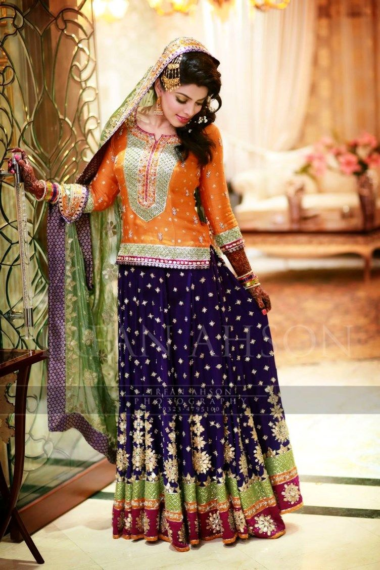 ecded19fbc The Colorful Pakistani Bridal Collection {Irfan Ahson Photography ...