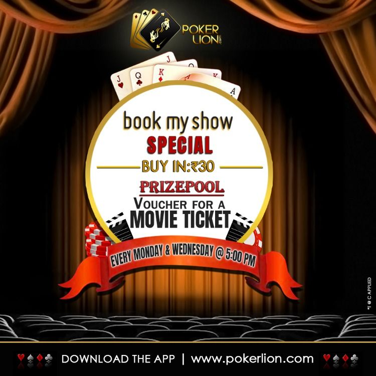 Play Poker Plan Your Movie Date Play Book My Show Special