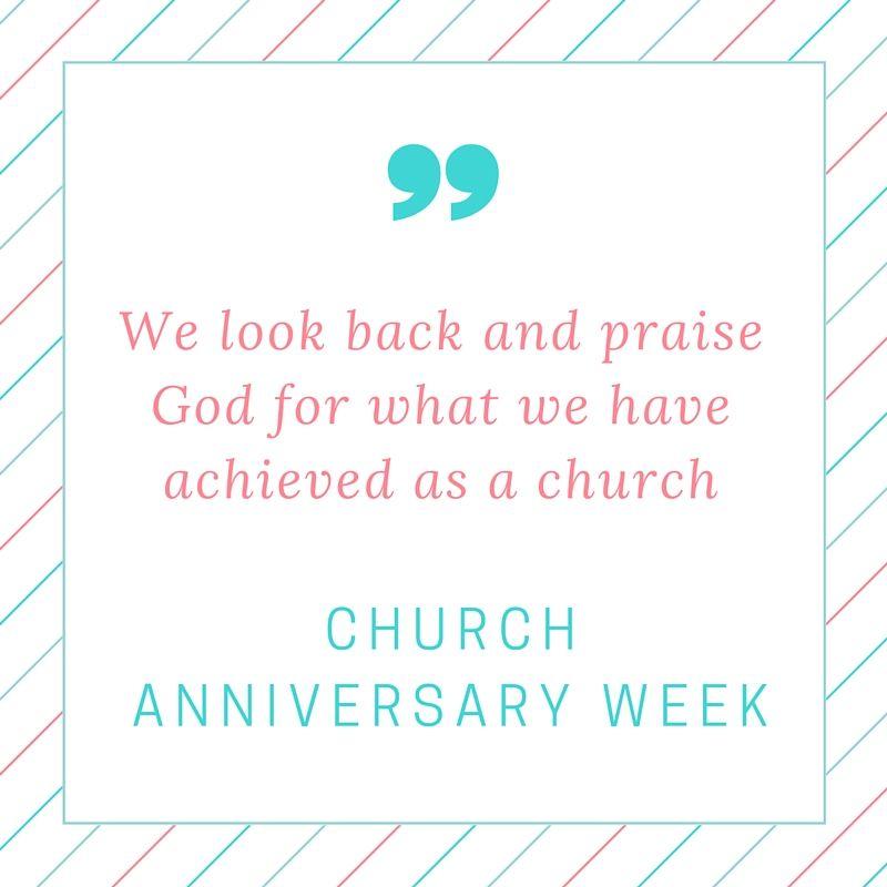 Church Anniversary Welcome Speeches Anniversary