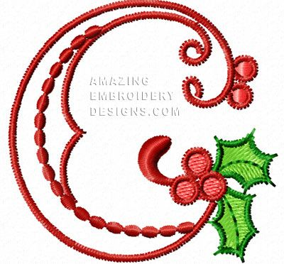 WINTER ALPHABET COLLECTION MACHINE EMBROIDERY DESIGNS ON CD OR USB