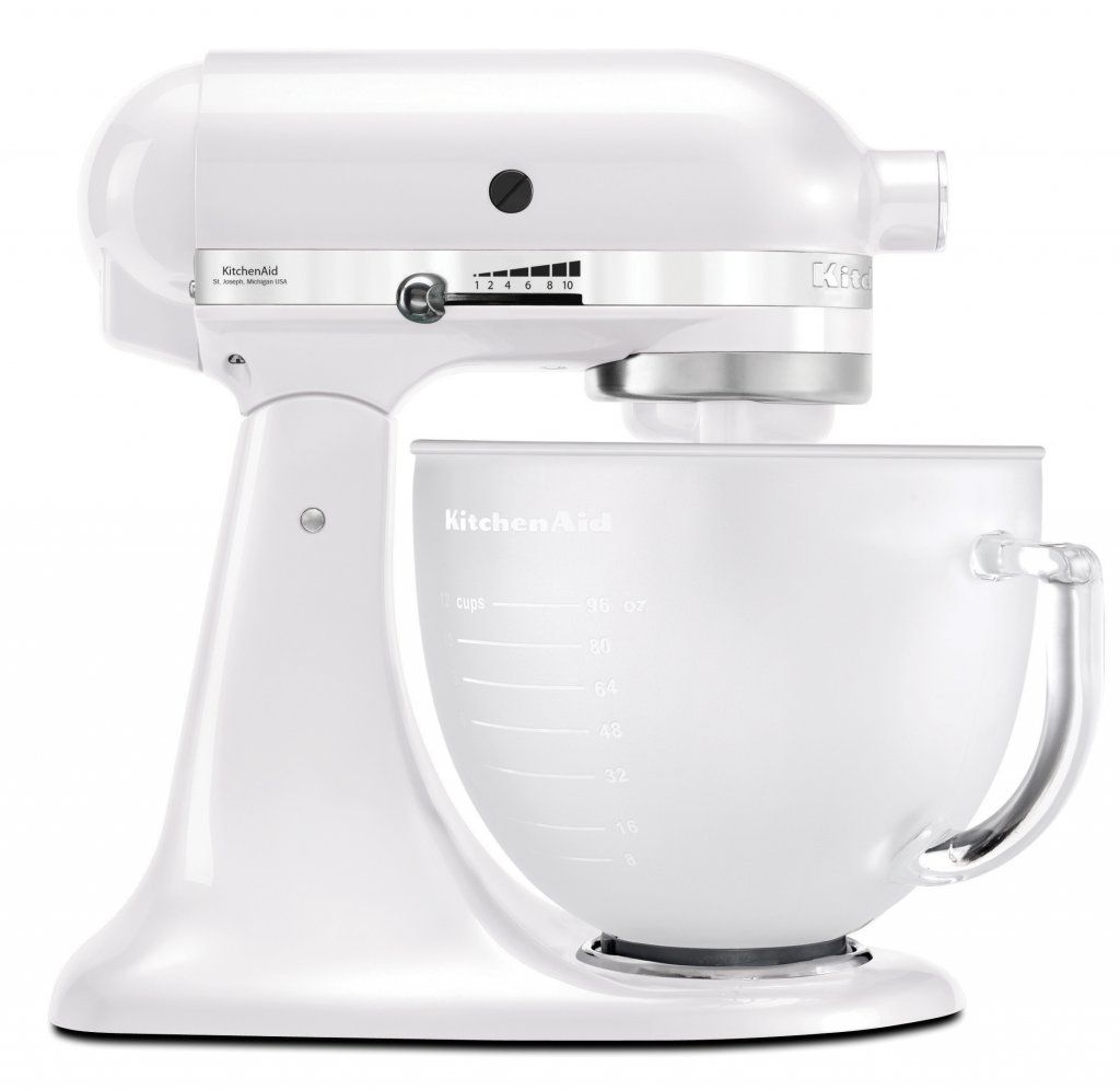 Fosted pearl ksm156 stand mixer kitchenaid with images