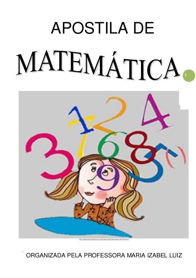 Apostila De Matematica Adaptada Apostila De Matematica