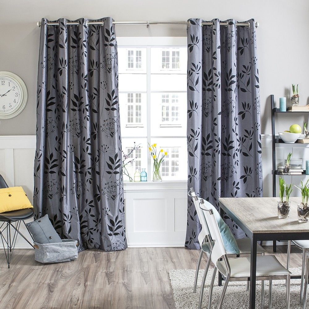 Stylish And Practical Curtain. The ALYSON Blackout Curtain Panel Can Block  Light Out, Reduce