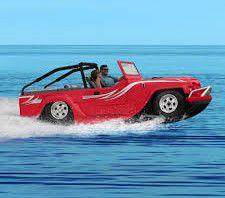 fastest amphibious car in the world. cool stuff